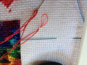 Draw Needle Up