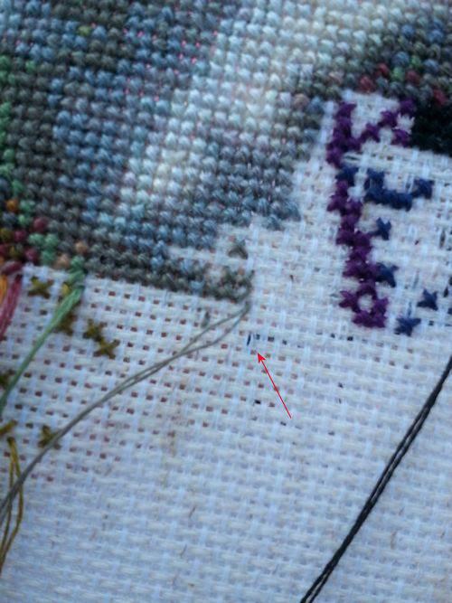 Half Pin Stitch