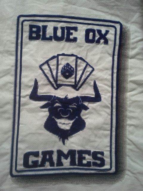 Blue Ox Games Stitched Finished.