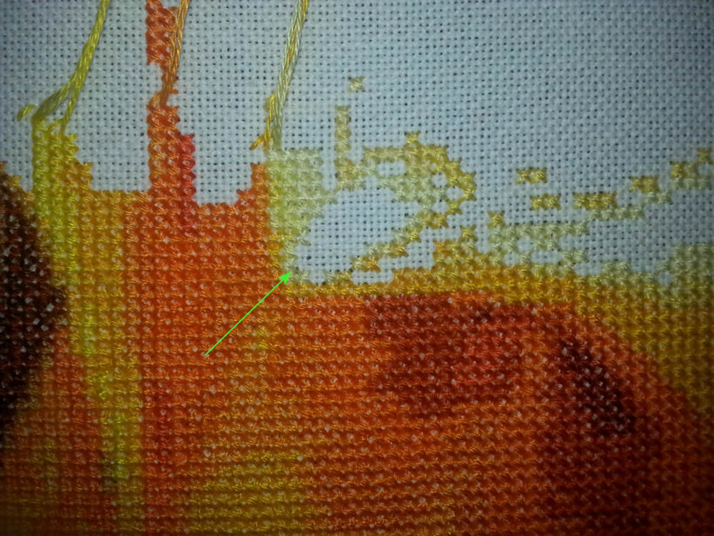 how to start a tomboy stitch