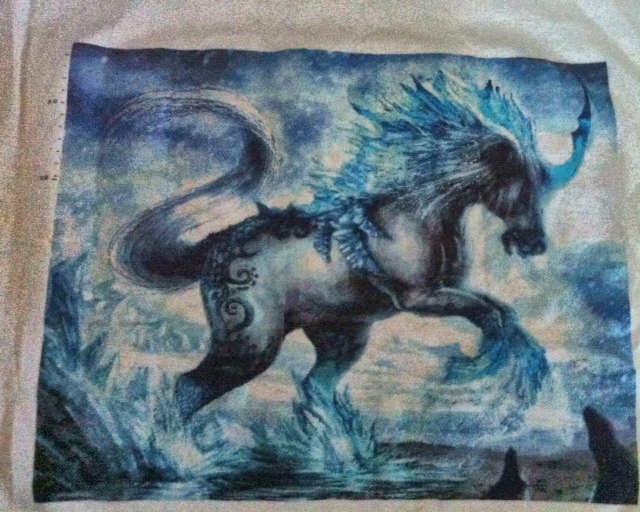 Ice Horse Custom Chart by Dianne Frith