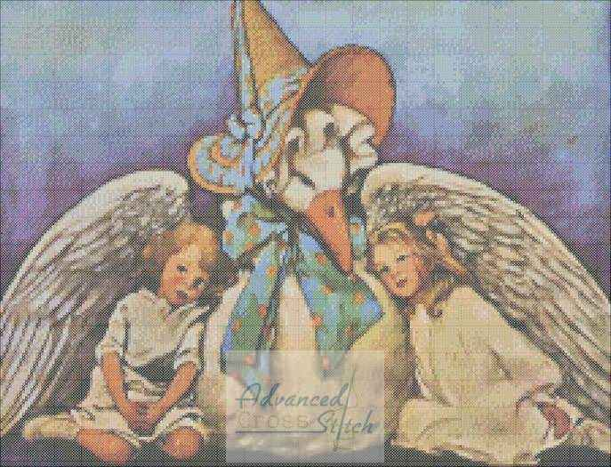 Mother Goose Cross Stitch Pattern