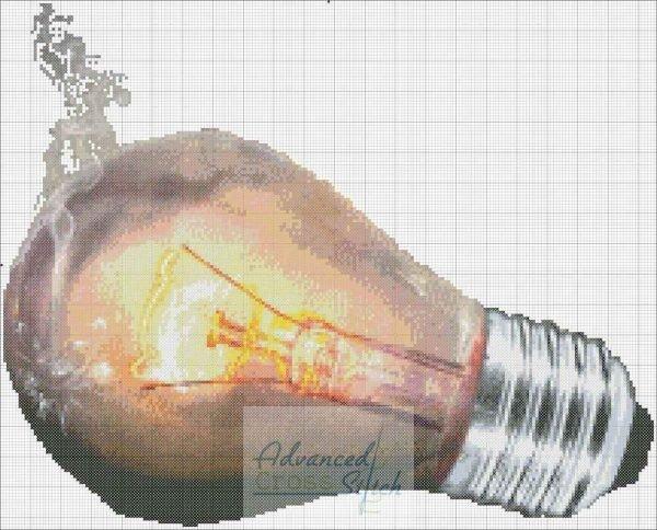 Fired Up Lightbulb