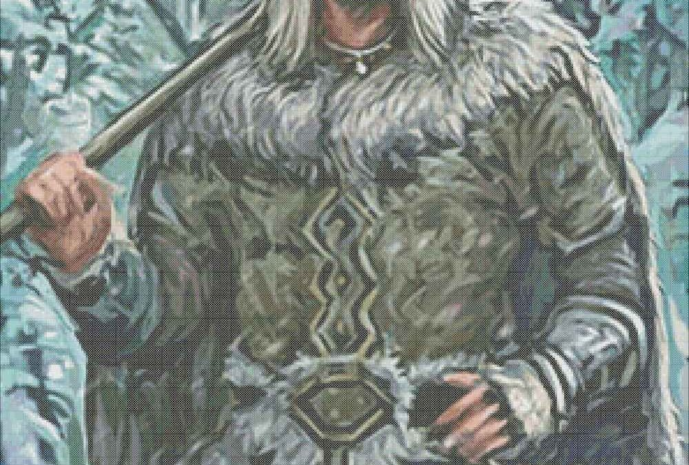 Winter Warrior Cross Stitch Chart