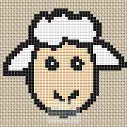 Sheep Cross Stitch