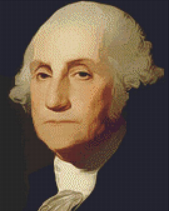 George Washington Cross Stitch Chart