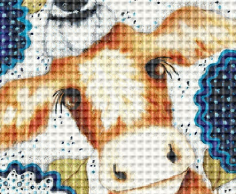 Chicodee Farm Cross Stitch Pattern