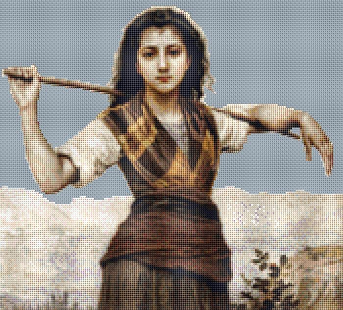 Shepardess Cross Stitch Chart