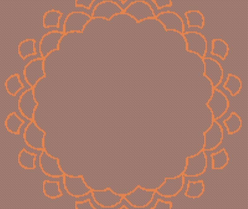 Mandala Circle 70 You Design Cross Stitch